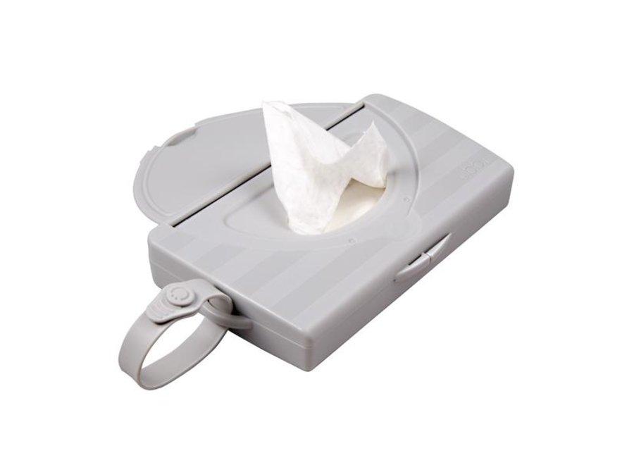 On the go wipes dispenser
