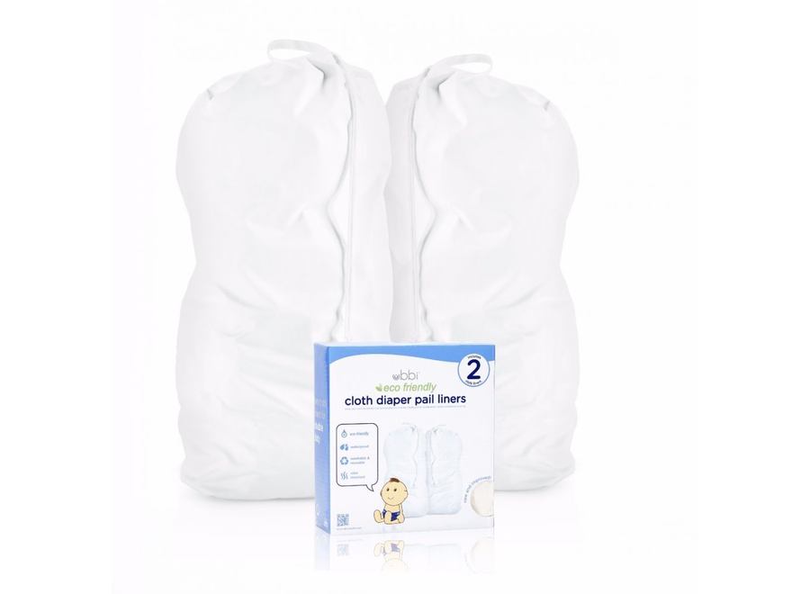 Cloth diaper pail liners 2 pack