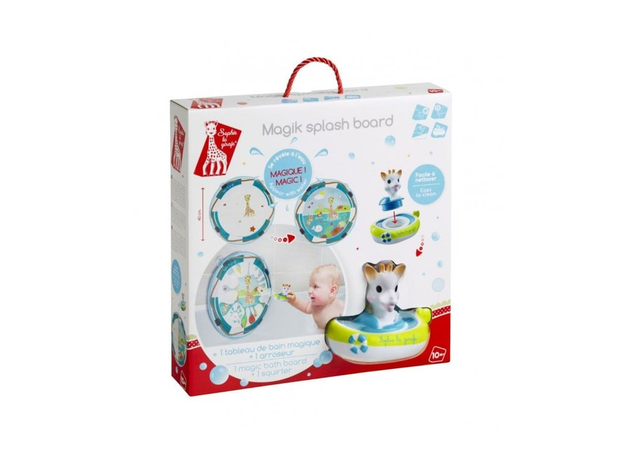 Magik splash board + bath toy