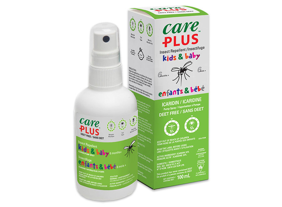 Care Plus kids 100ml insect repellent