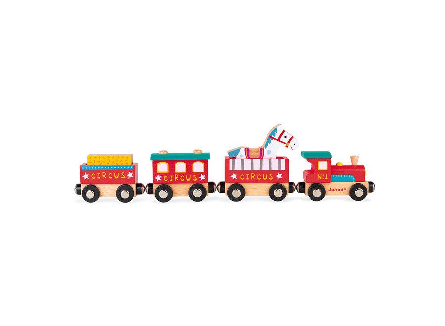 Story train circus
