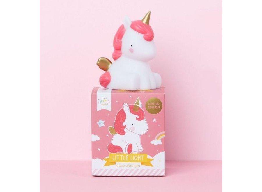 Little light unicorn gold