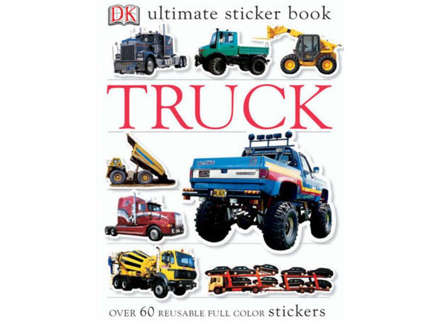 Truck Ultimate sticker book