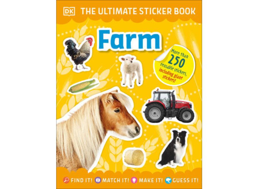 Farm Ultimate sticker book