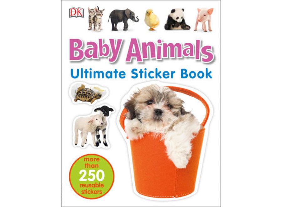 Baby Animals Ultimate sticker book