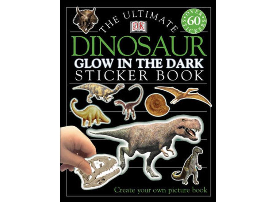 Glow in the Dark Dinosaur Ultimate sticker book