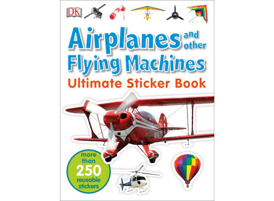 Airplanes and flying machines Ultimate sticker book