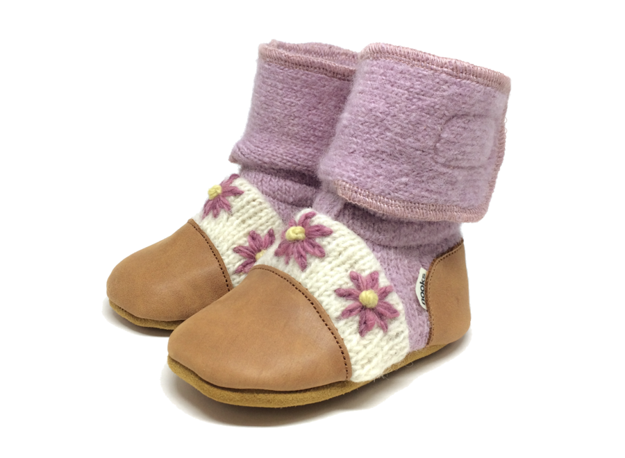 Nooks Wool Booties size 2.5 (0-6m)