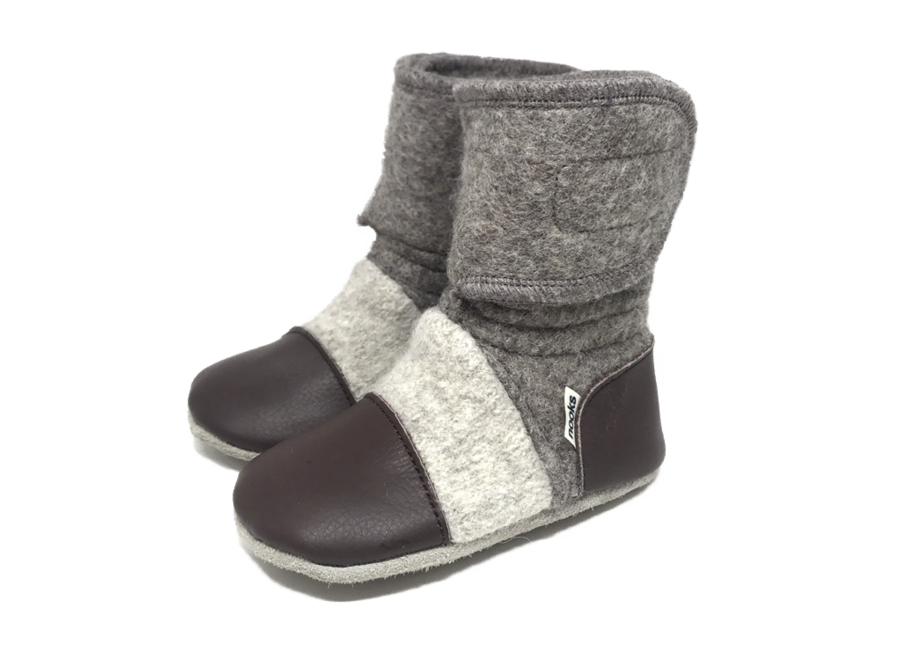 Nooks Wool Booties size 4 (6-12m)