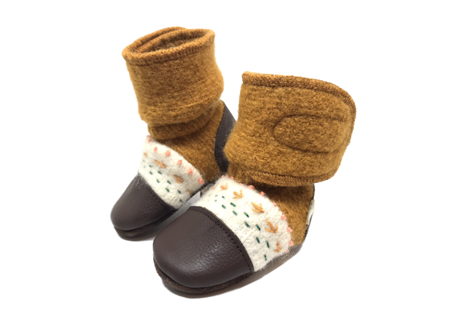 Nooks Wool Booties size 8.5 (2T-3T)