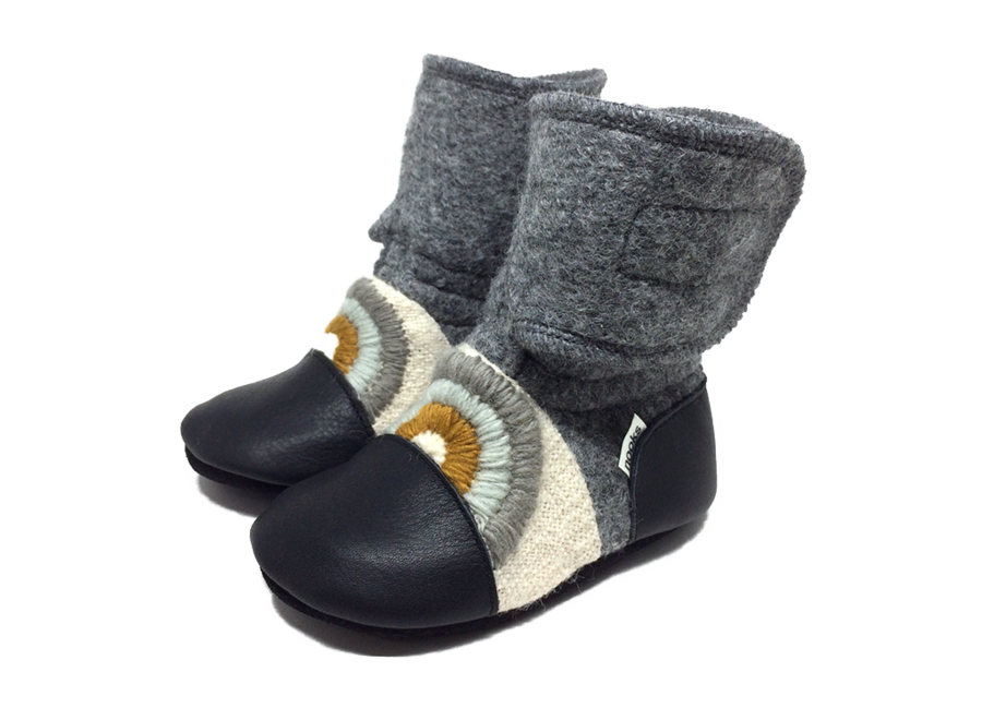 Nooks Wool Booties size 10 (3-4T)