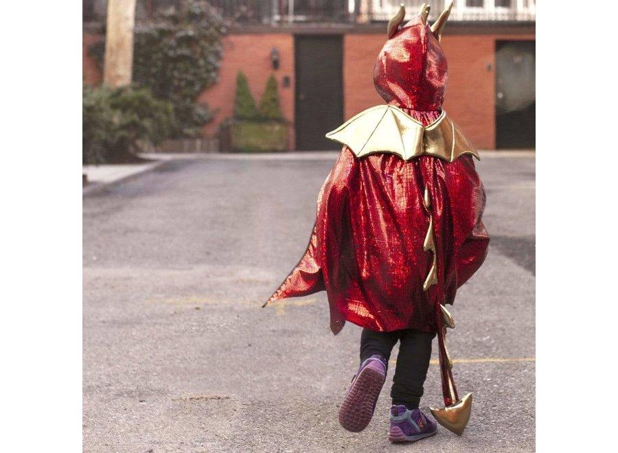 Red dragon cape