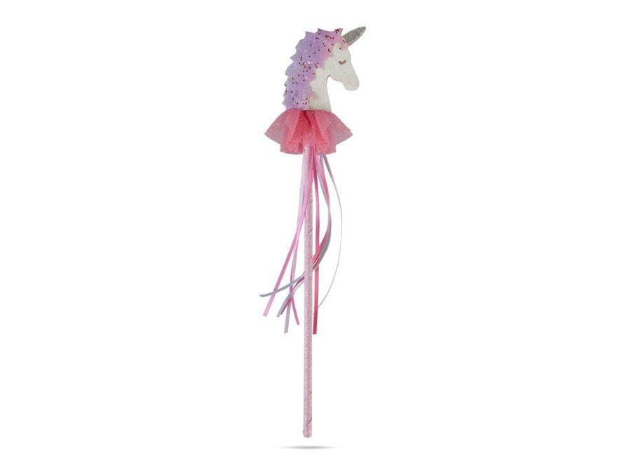 Fanciful unicorn wand