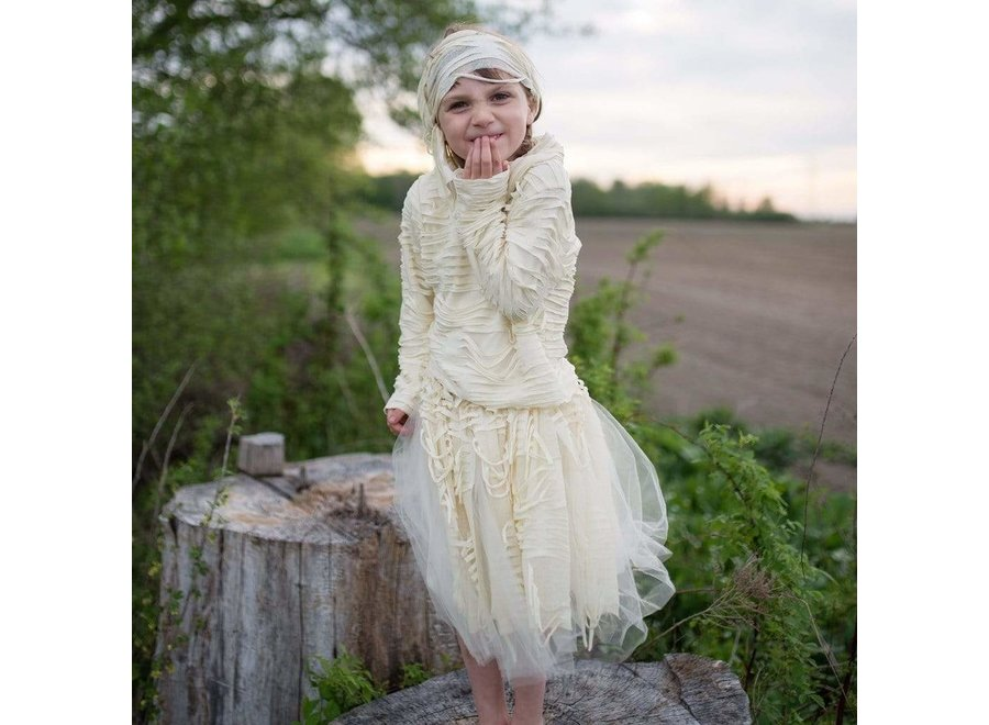 Mummy costume with skirt