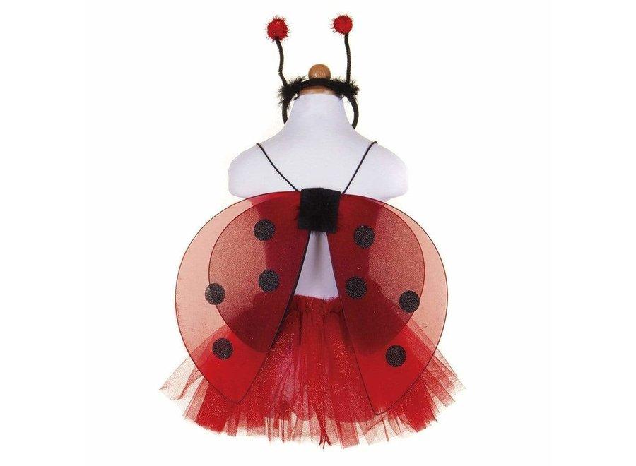 Glitter ladybug set