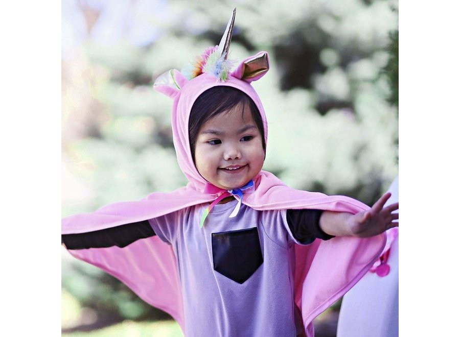 Pink Unicorn cape