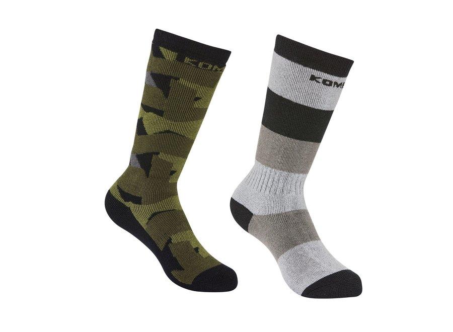 Rumble twin pack children sock