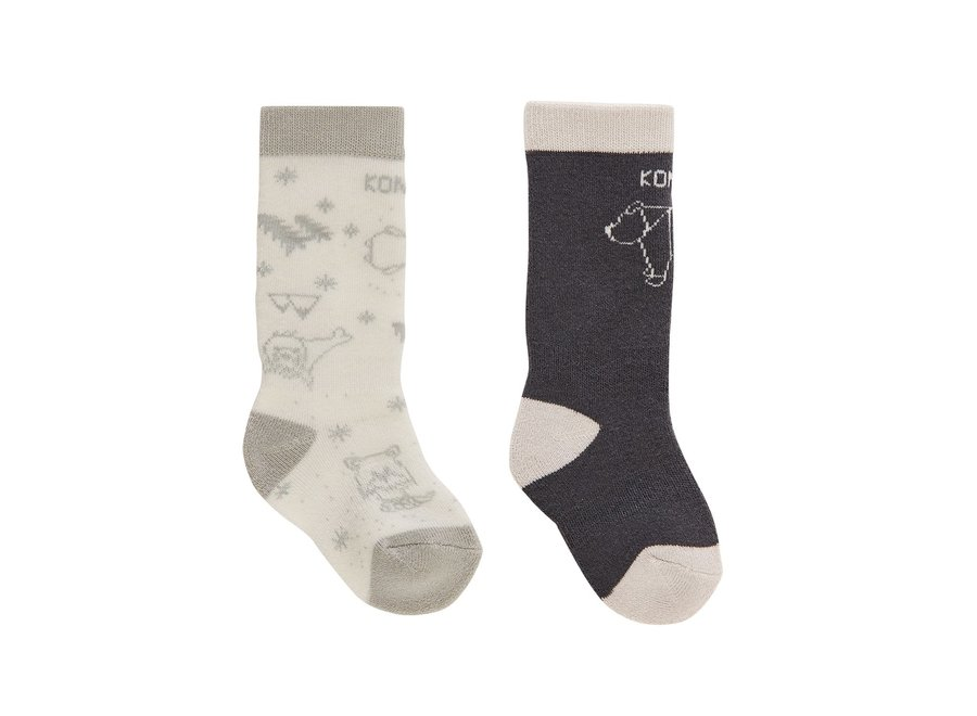 Adorable Twin Pack Infant Sock