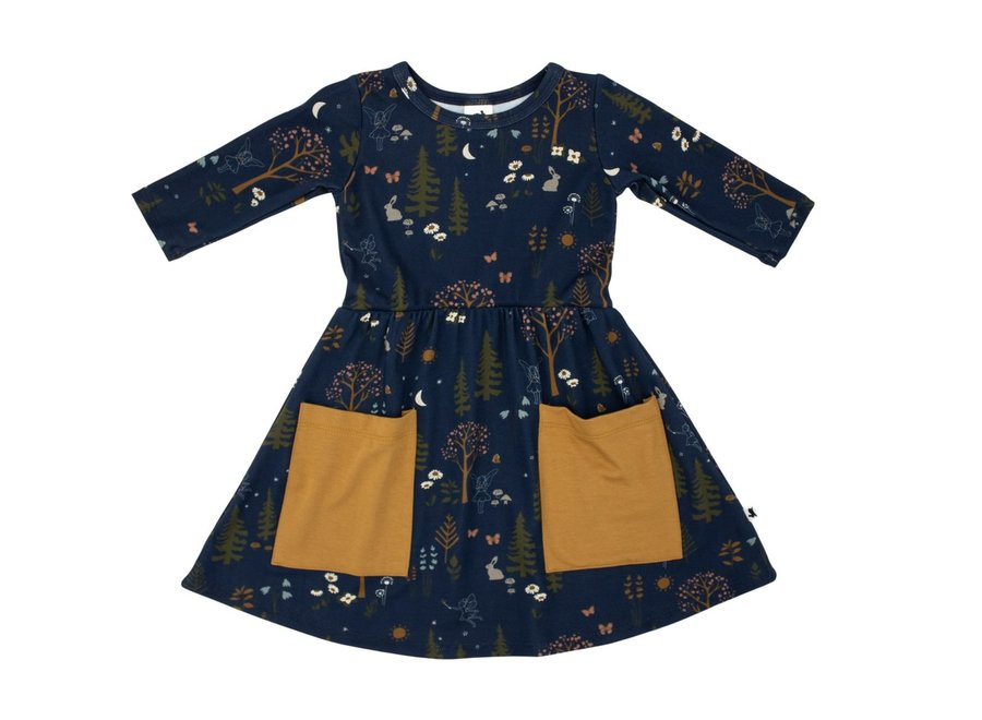 Clementine dress - Enchanted forest