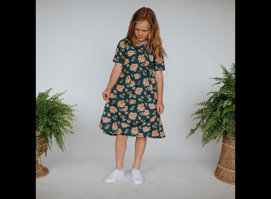 Youth Daphne dress - Secret garden