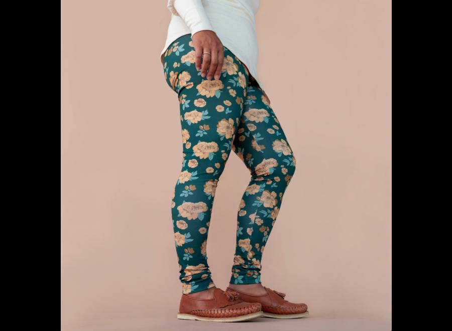Women's leggings - Secret garden