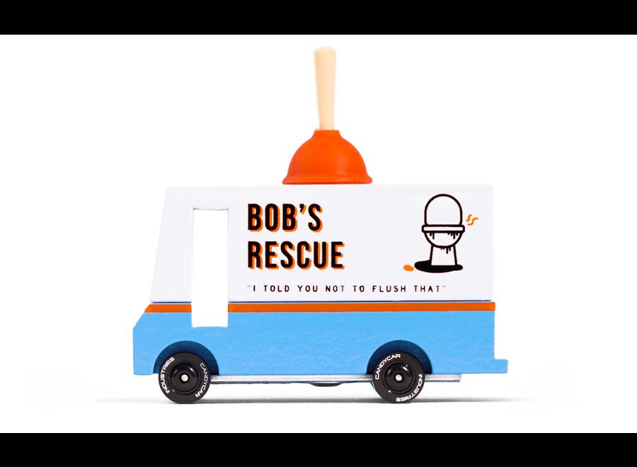 Candyvan Bob's Plumbing van