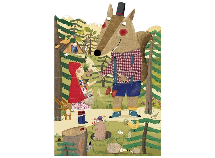 Puzzle - My Little Red Riding Hood