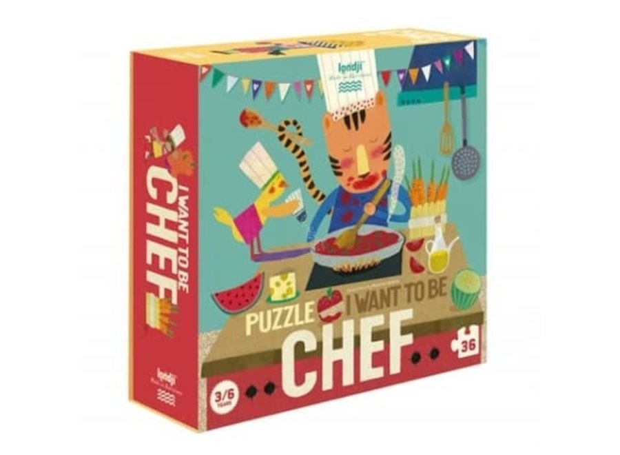 Puzzle - I want to be a chef