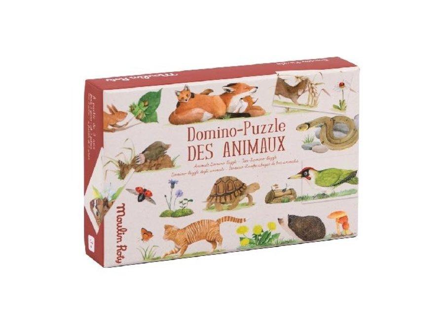Animals - domino puzzle