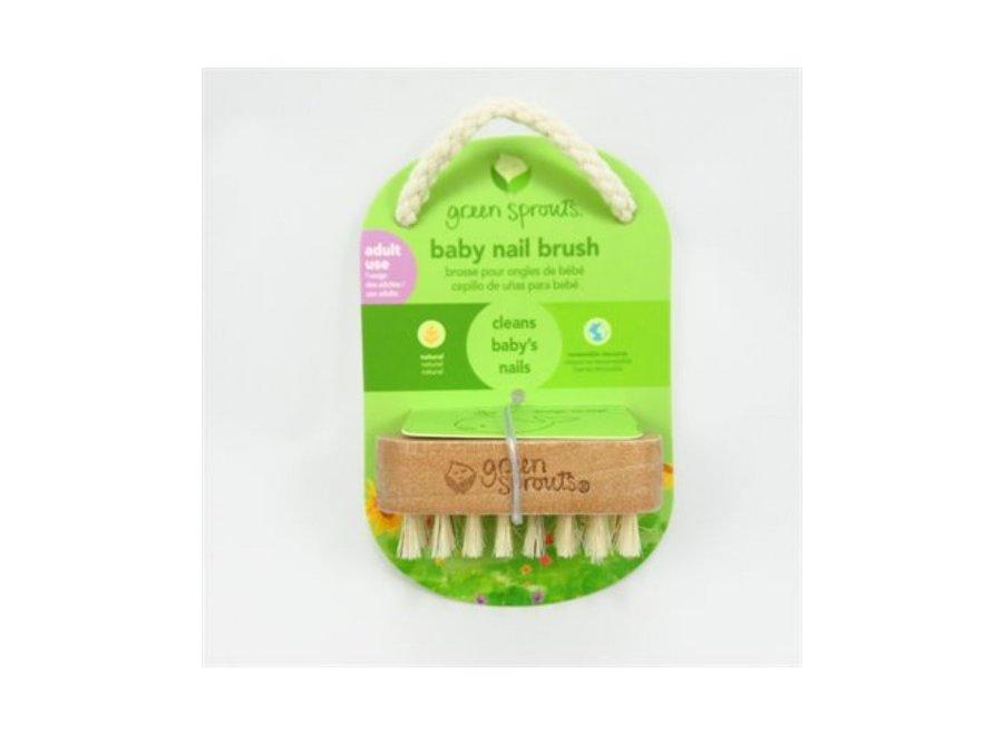 Baby nail brush natural