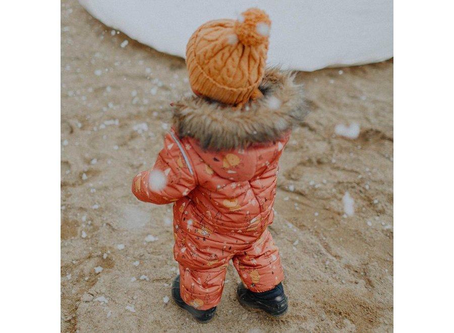 One-piece snowsuit