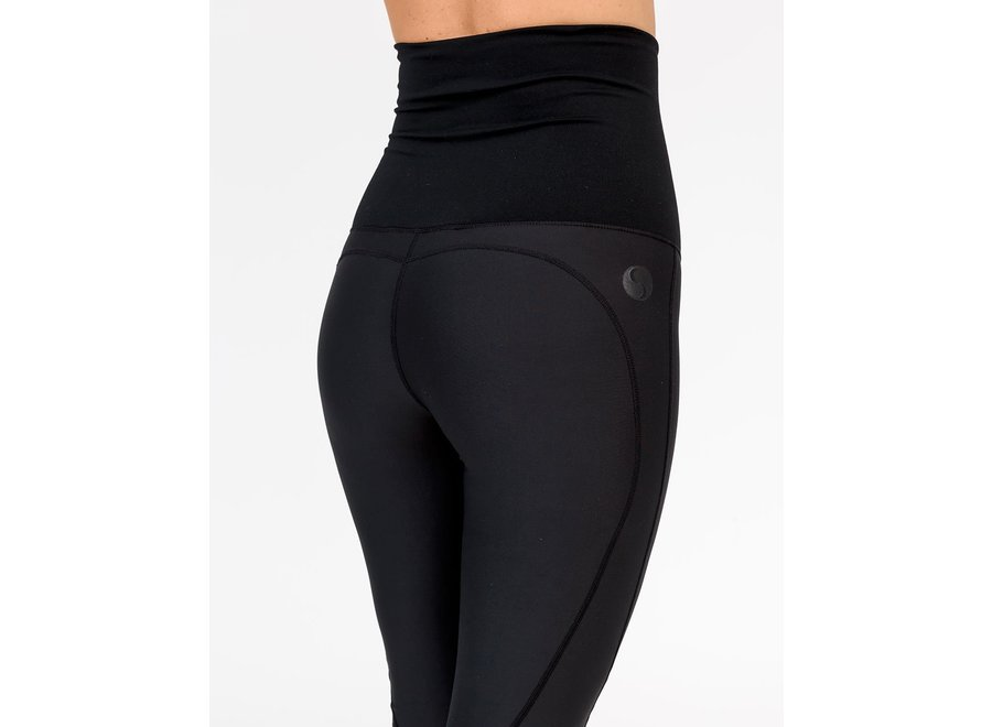 Maternity Leggings - Classic Full Length Black