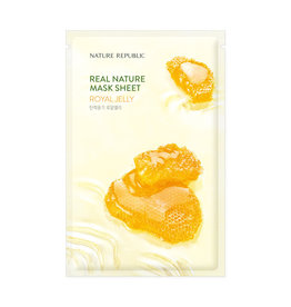 Real Nature Royal Jelly Mask Sheet