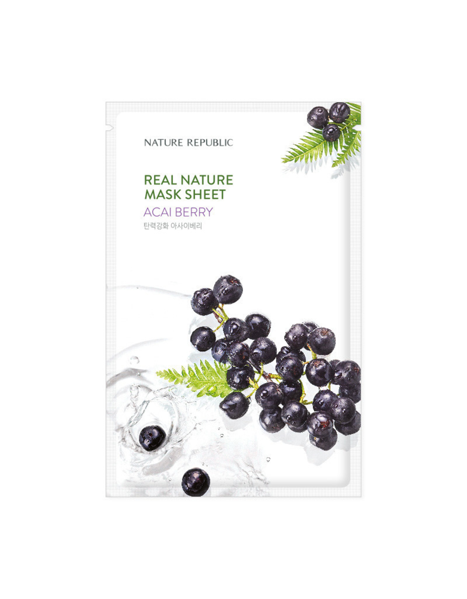 Real Nature Acai Berry Mask Sheet (Orig $1.90)