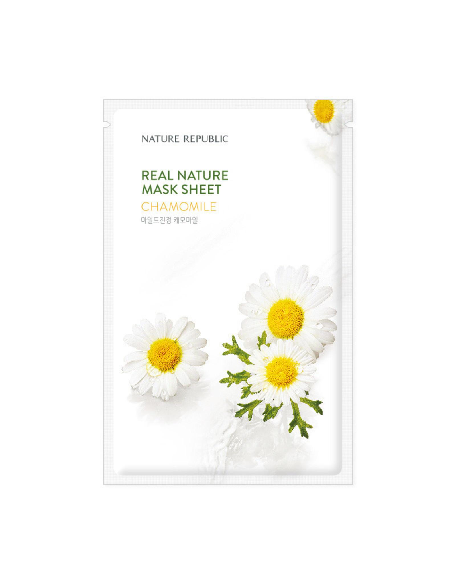 Real Nature Chamomile Mask Sheet (Orig $1.90)