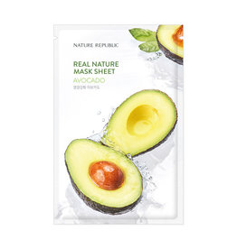 Real Nature Avocado Mask Sheet