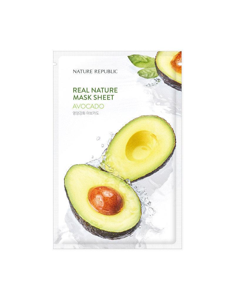Real Nature Avocado Mask Sheet (Orig $1.90)