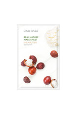 Real Nature Shea Butter Mask Sheet (Orig $1.90)
