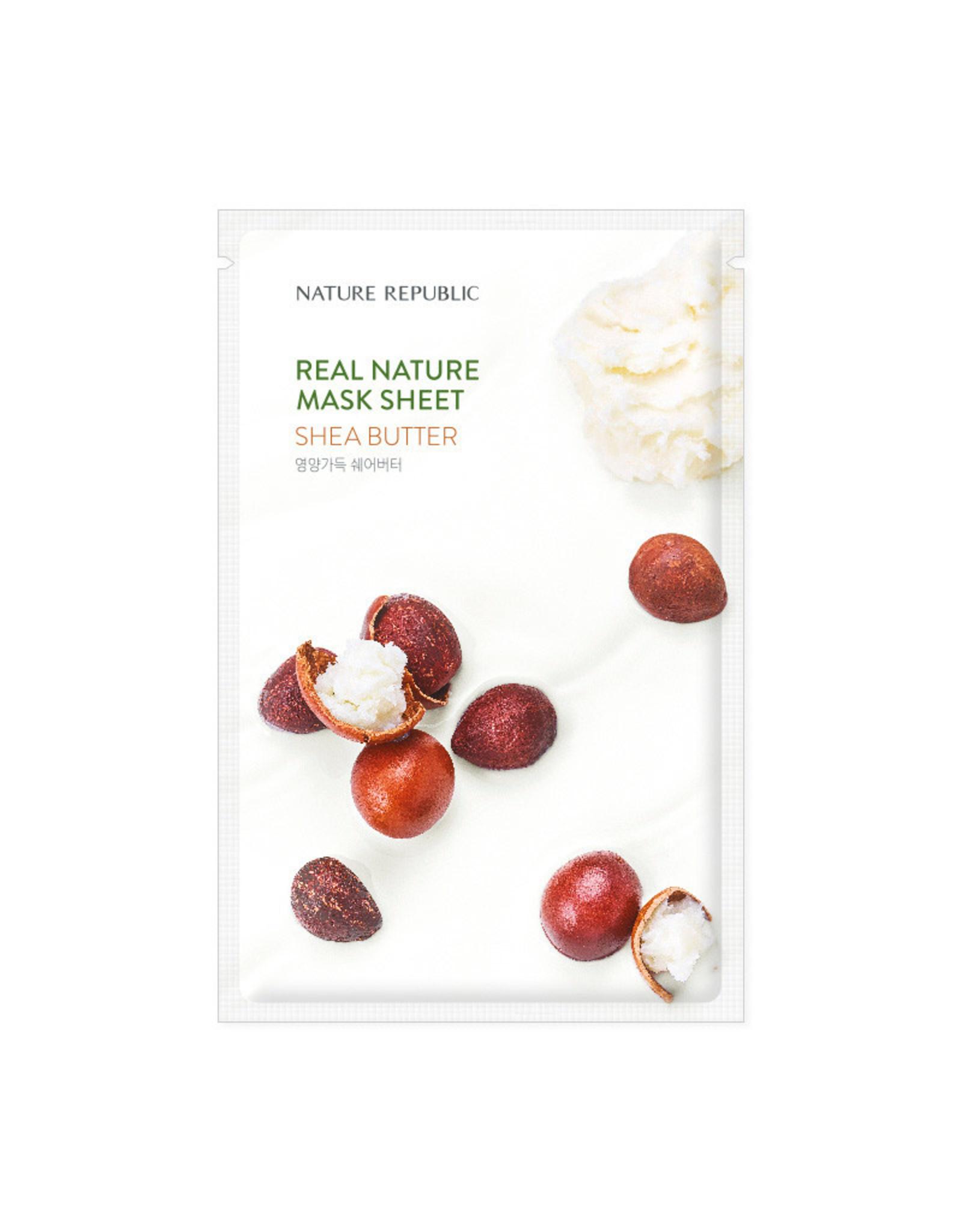 Real Nature Shea Butter Mask Sheet (Orig $1.90)