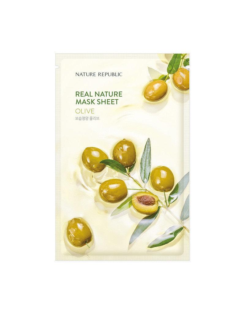 Real Nature Olive Mask Sheet (Orig $1.90)
