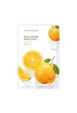 Real Nature Orange Mask Sheet (Orig $1.90)