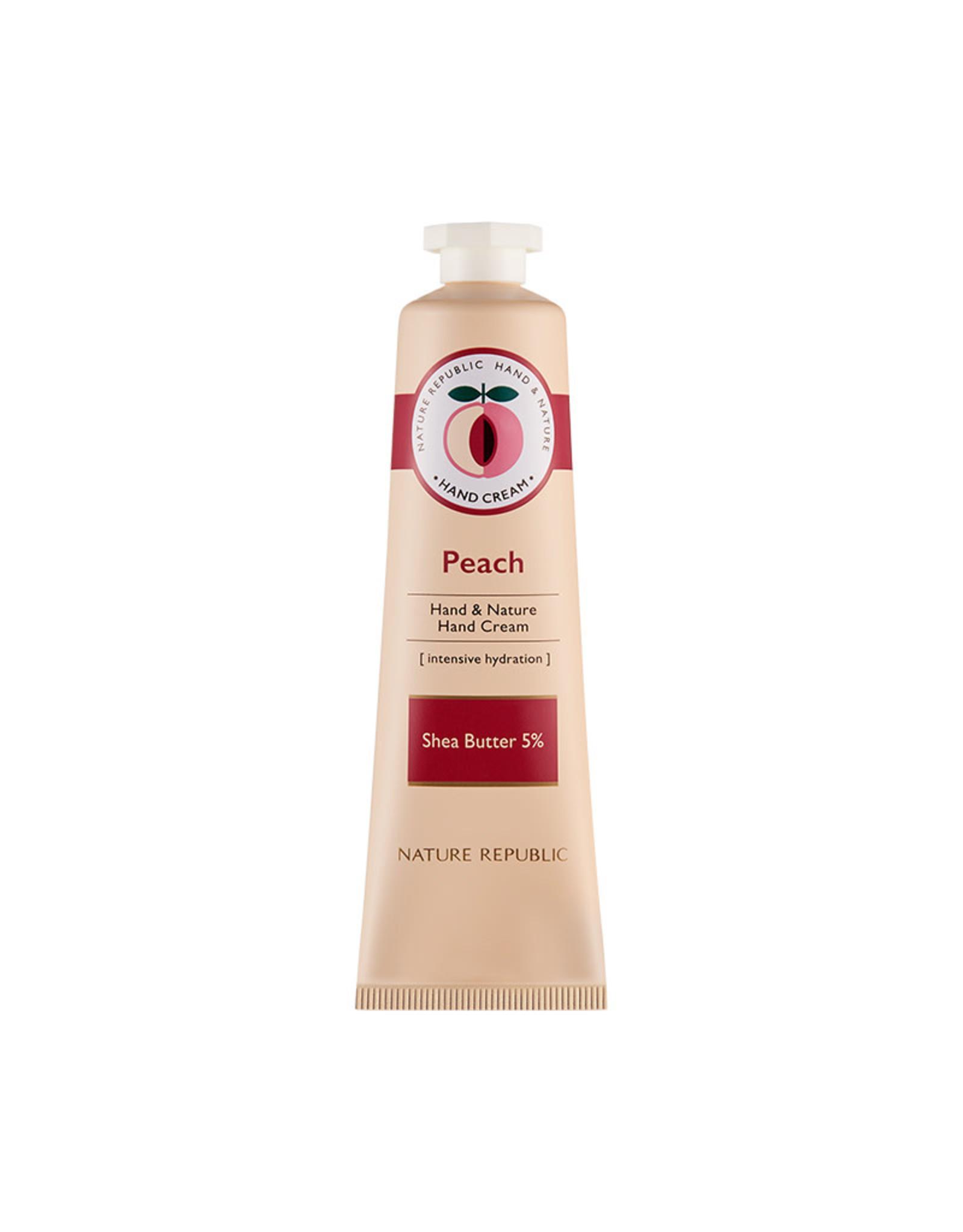 Hand & Nature Hand Cream Peach (Orig $8.90)
