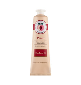 Hand & Nature Hand Cream Peach (Orig $8.90)