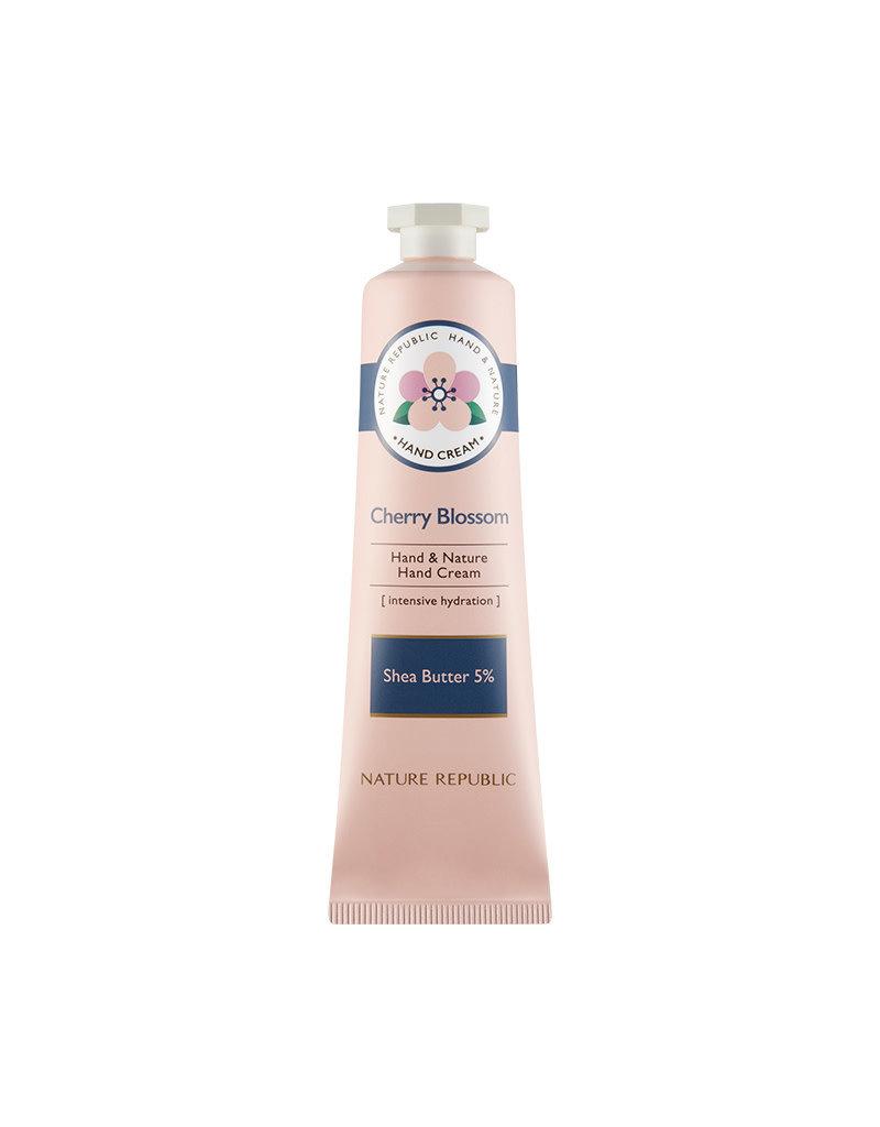 Hand & Nature Hand Cream Cherry Blossom (Orig $8.90)