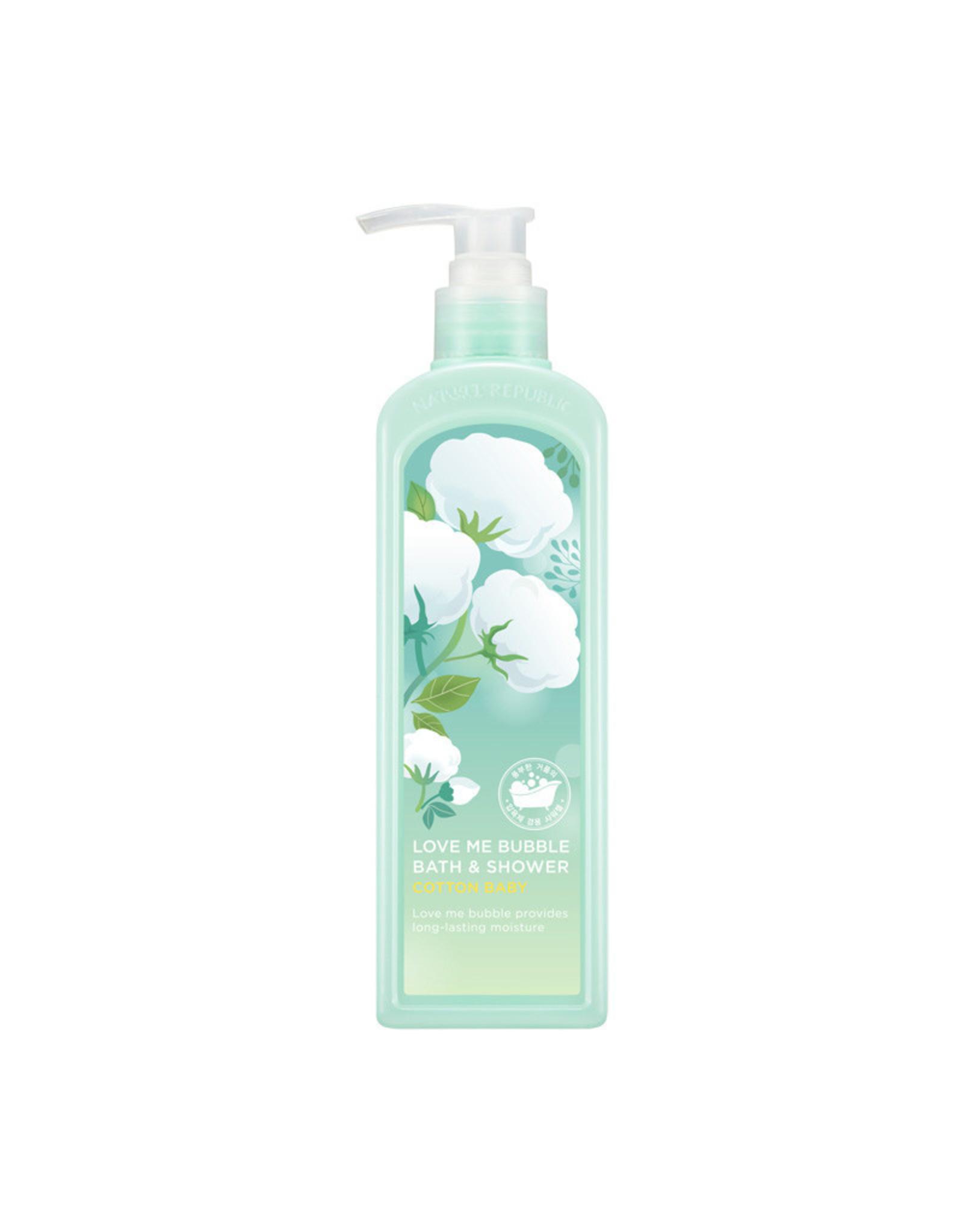 Love Me Bubble Bath & Shower Gel-Cotton Baby (Orig $22.90)
