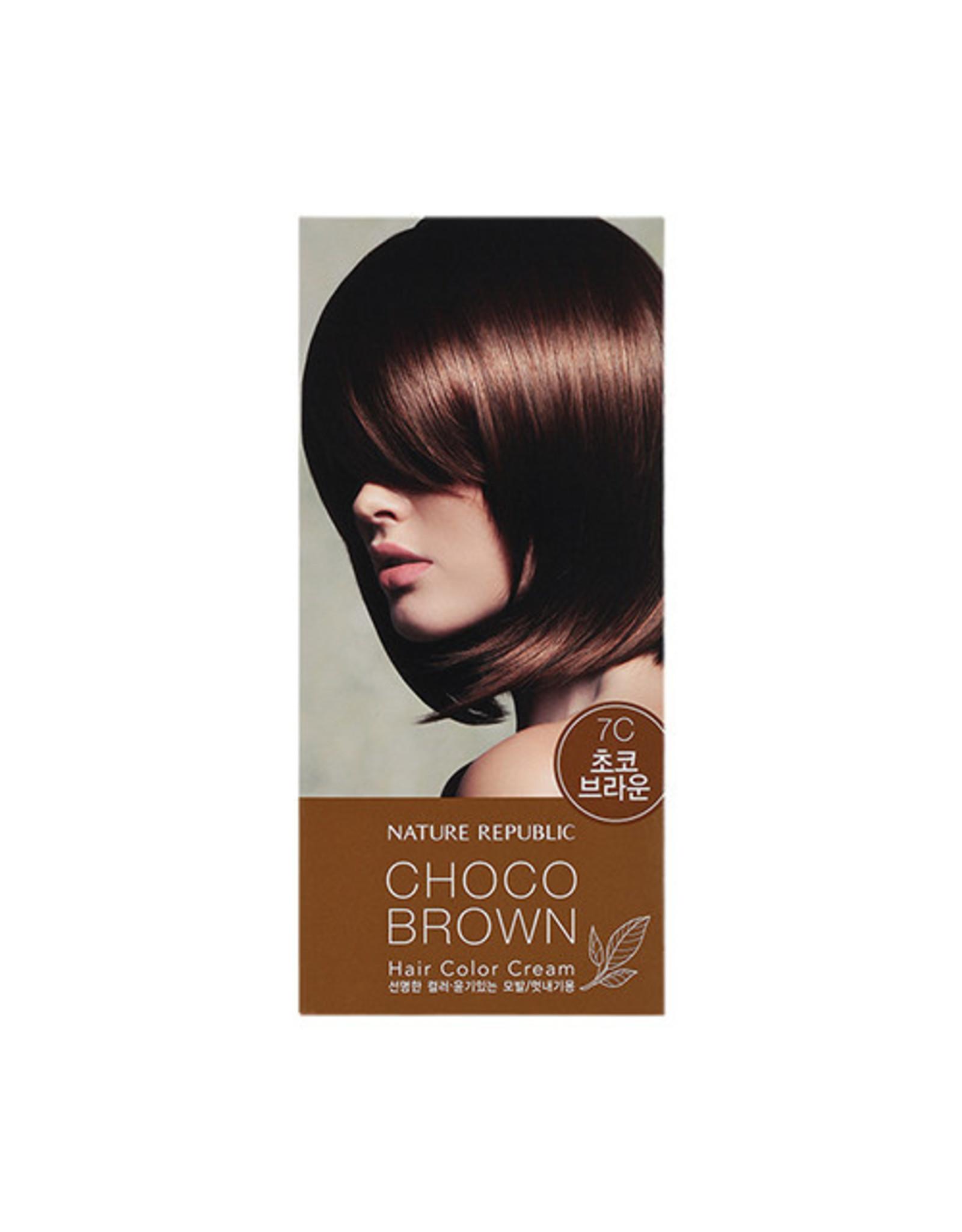 Hair&Nature Hair Color Cream 7Cchoco Brown
