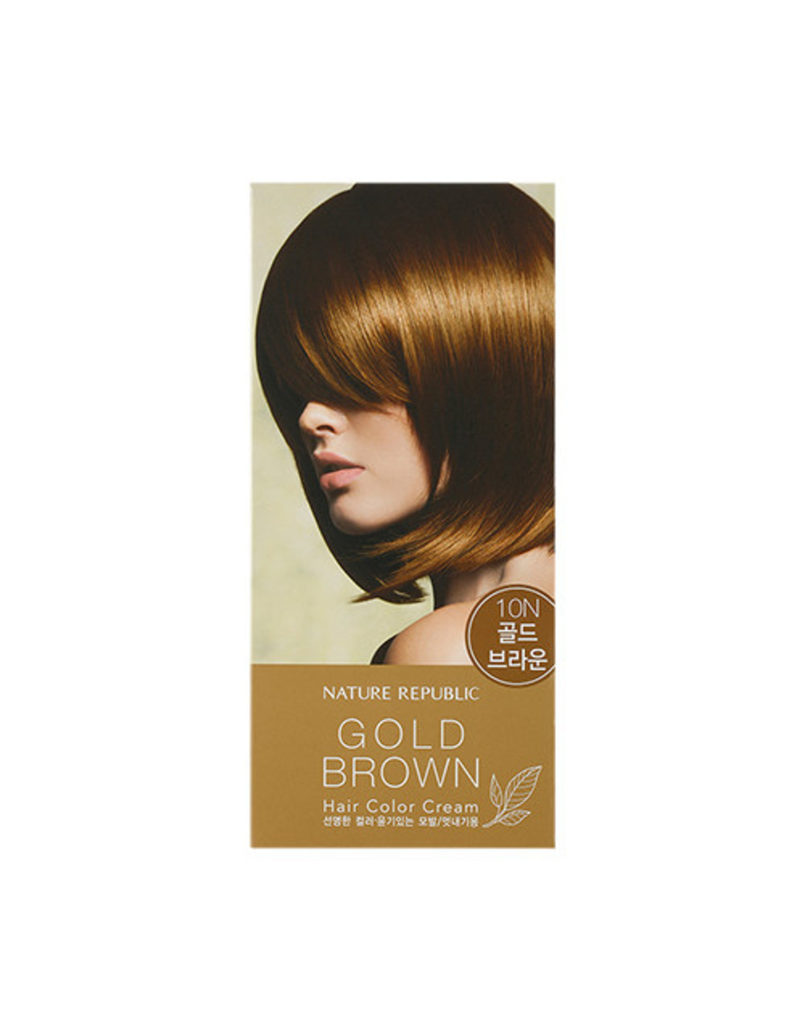 Hair&Nature Hair Color Cream 10N Gold Brown