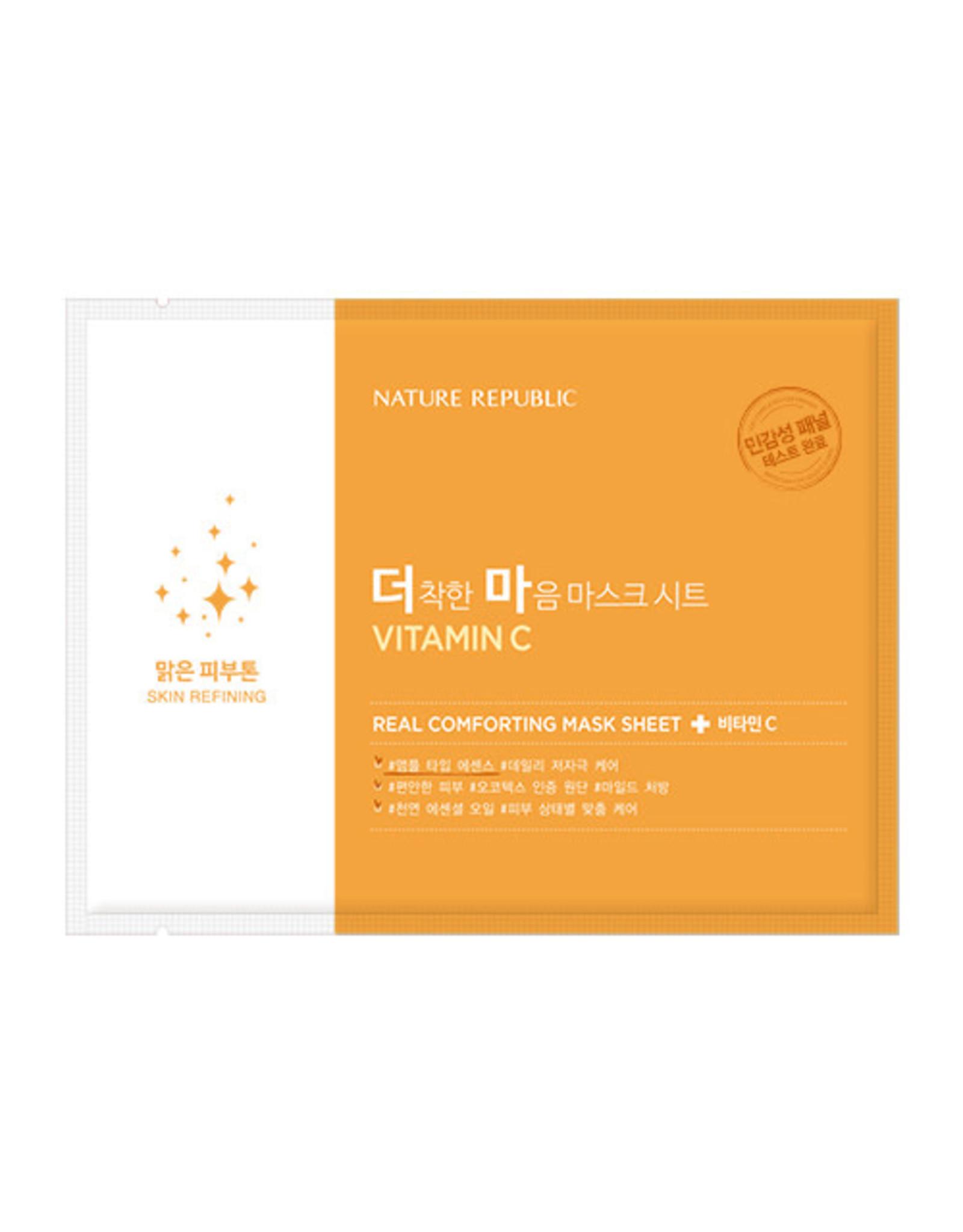 Real Comforting Mask Sheet Vitamin C (Orig $1.90)