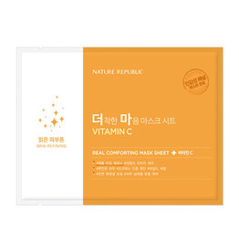 Real Comforting Mask Sheet Vitamin C