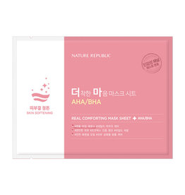 Real Comforting Mask Sheet Aha/Bha